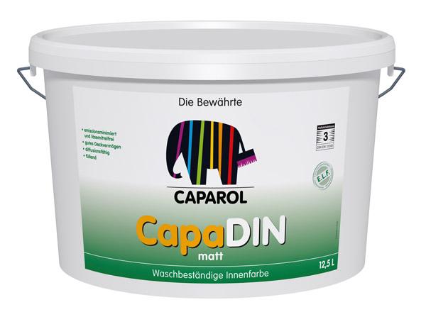 Caparol CapaDIN Innenfarbe 12,5l Eimer
