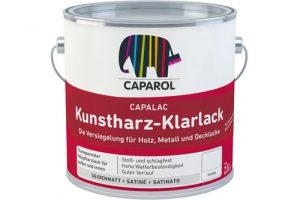 Caparol Kunstharz-Klarlack 2,5l Gebinde