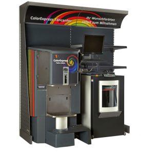 Colorexpress Farbmisch-Maschine