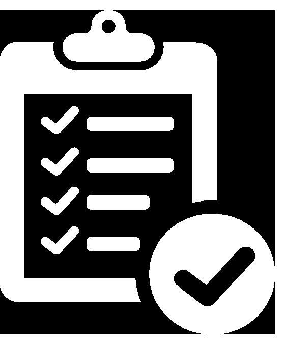 Weißes Angebots-Icon