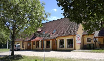 Firmengebäude Raumausstattung Wuttke Georgensgmünd - Polsterei