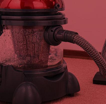 Teppichreinigungs-Gerät